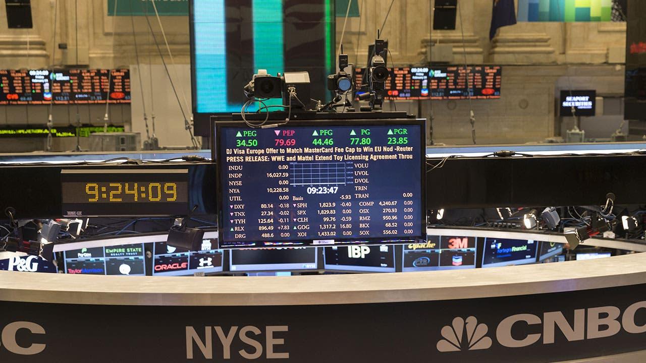New York Stock Exchange stock screen