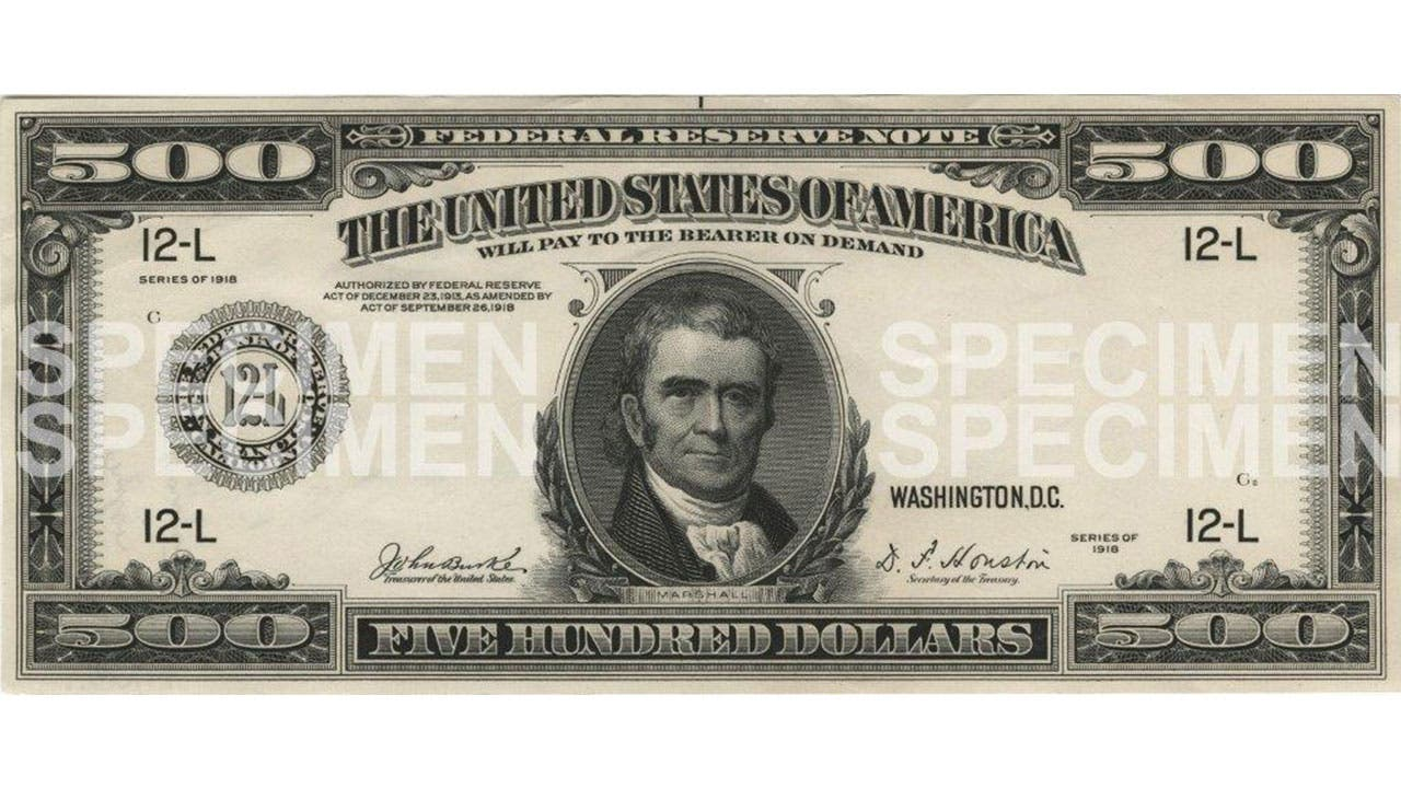 image regarding Fake 1000 Dollar Bill Printable named Visuals of Huge Payments - $1000, $5000, $10000, $100000
