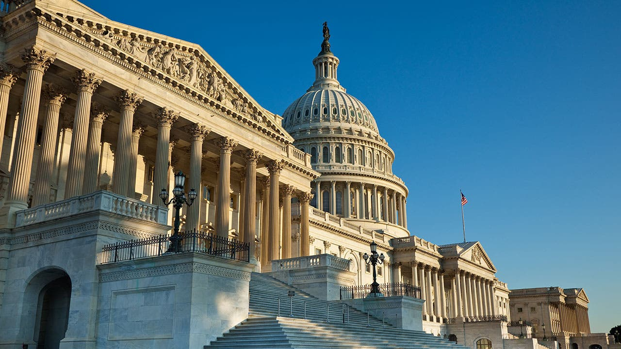 Senate building in Washington DC