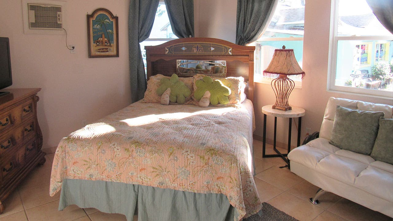 Bedroom listed on Airbnb