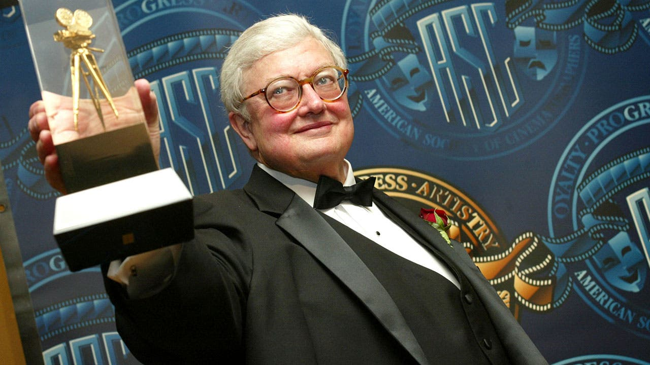 Roger Ebert winning award