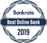 Bankrate's 2019 Best Online Bank Award