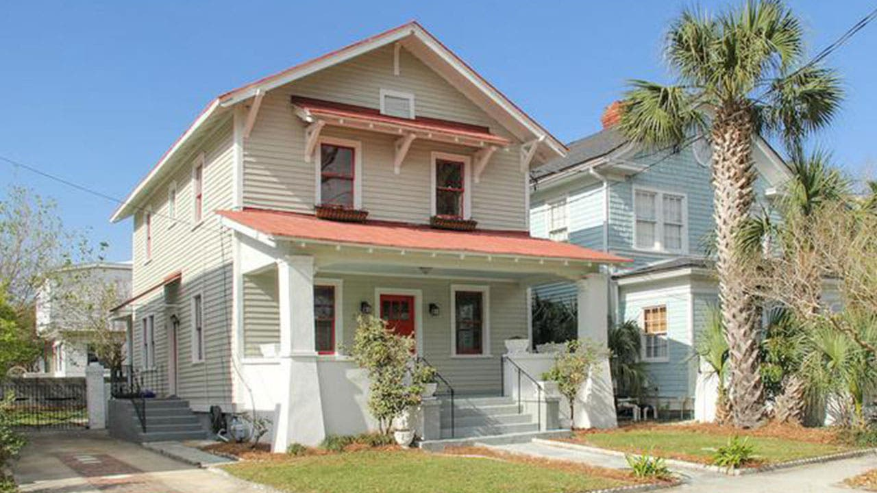 Sears Craftman home in Charleston