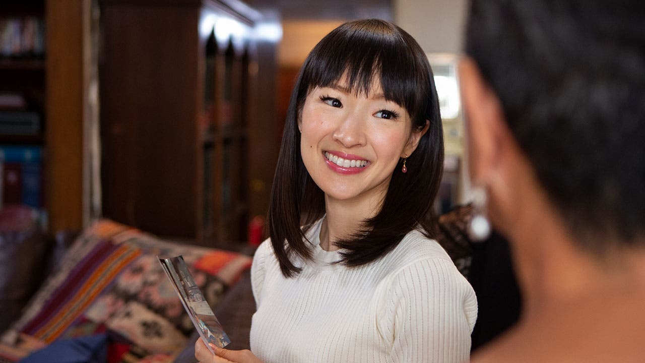 Marie Kondo on Tiding Up with Marie Kondo