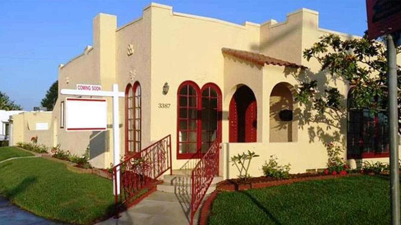 Tiny Spanish home in San Diego