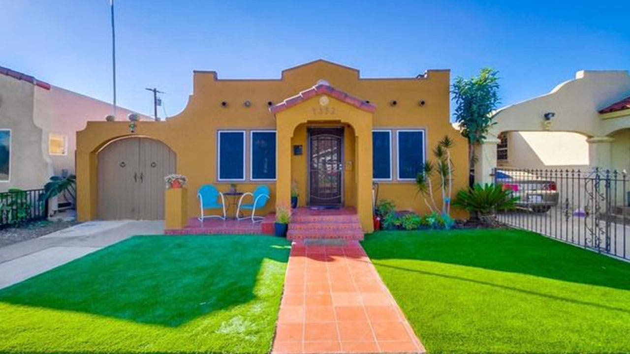 Tiny Spanish style home in San Diego
