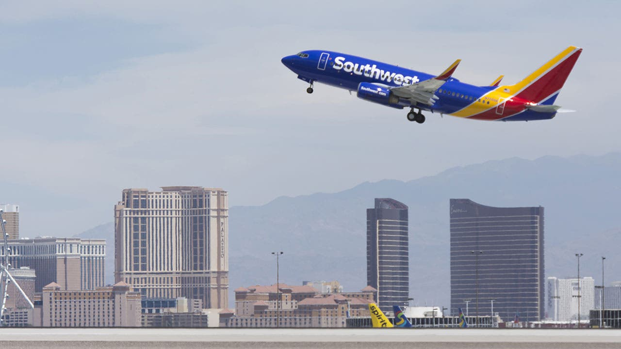 Southwest plan taking off
