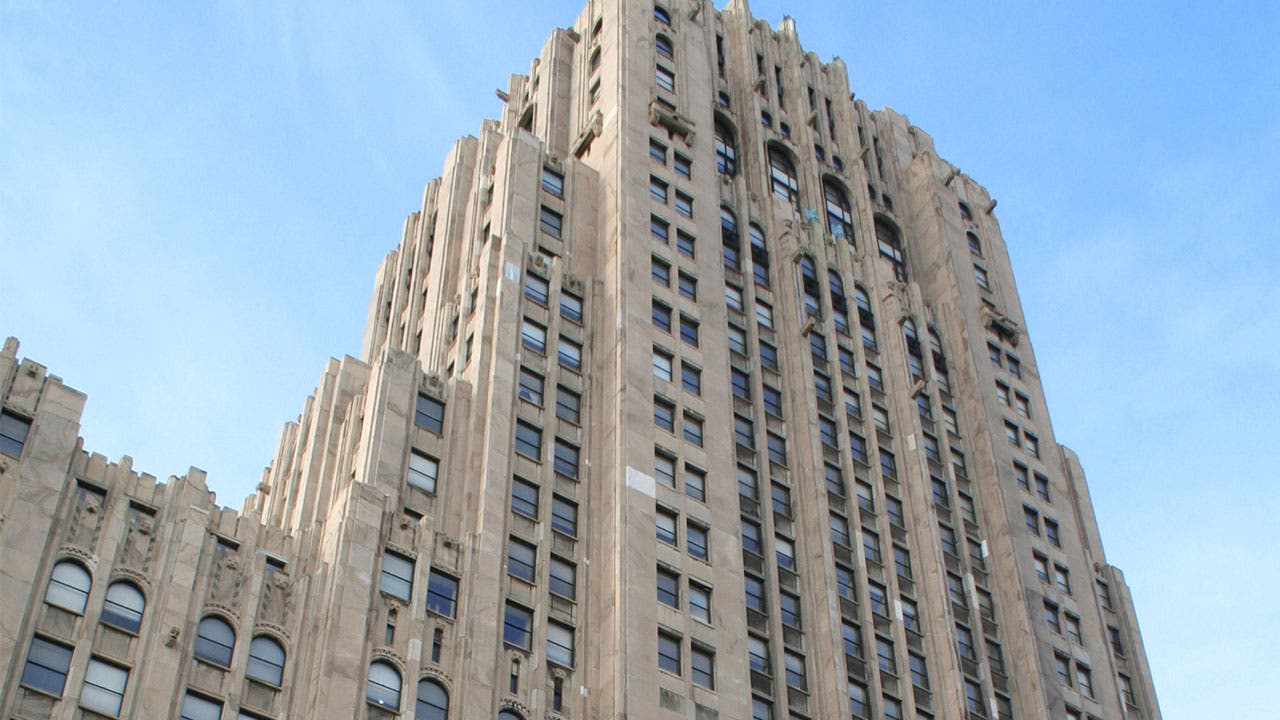 Fisher Building in Detroit