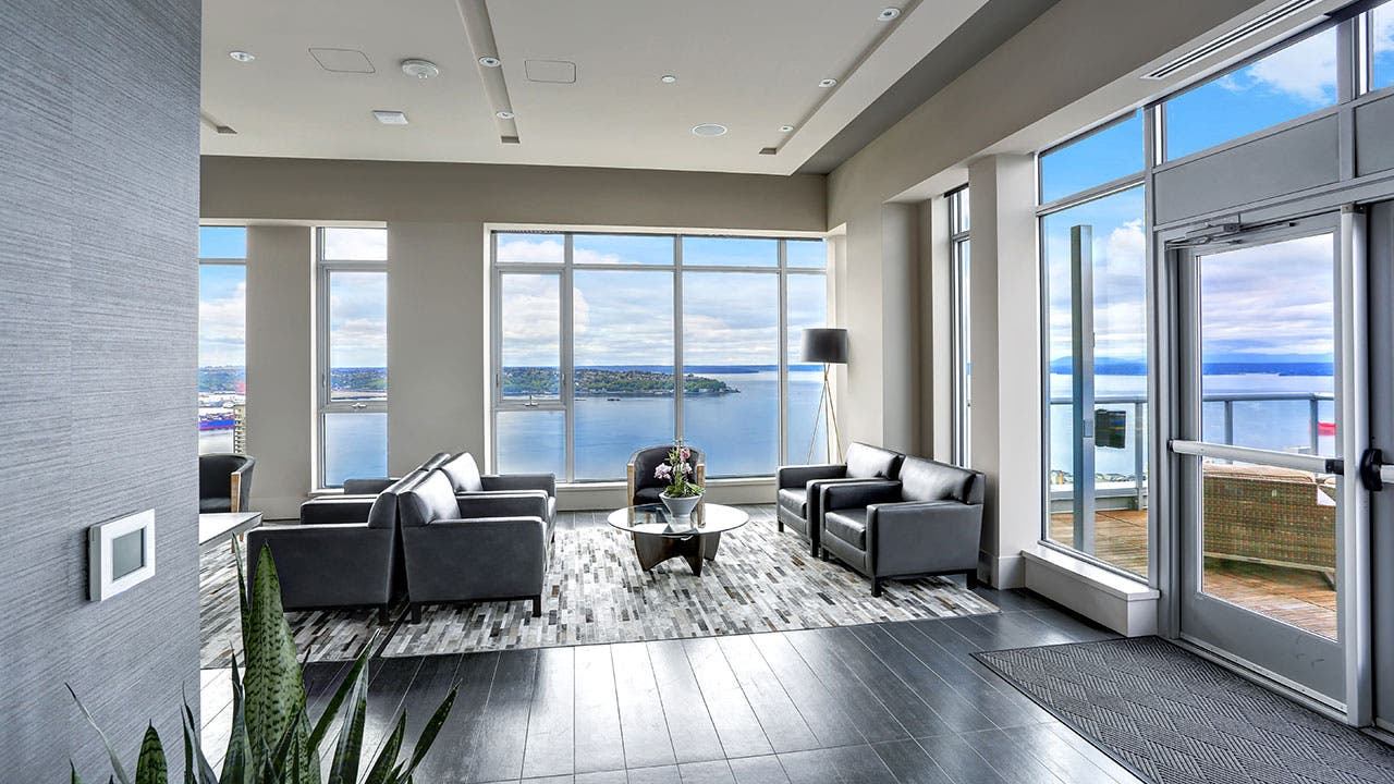 Seattle apartment with view