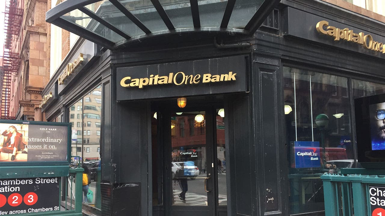 Capital One Bank on Chambers Street