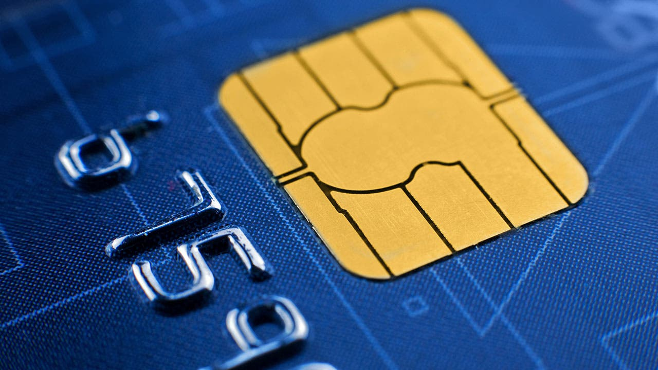 Credit card EMV chip