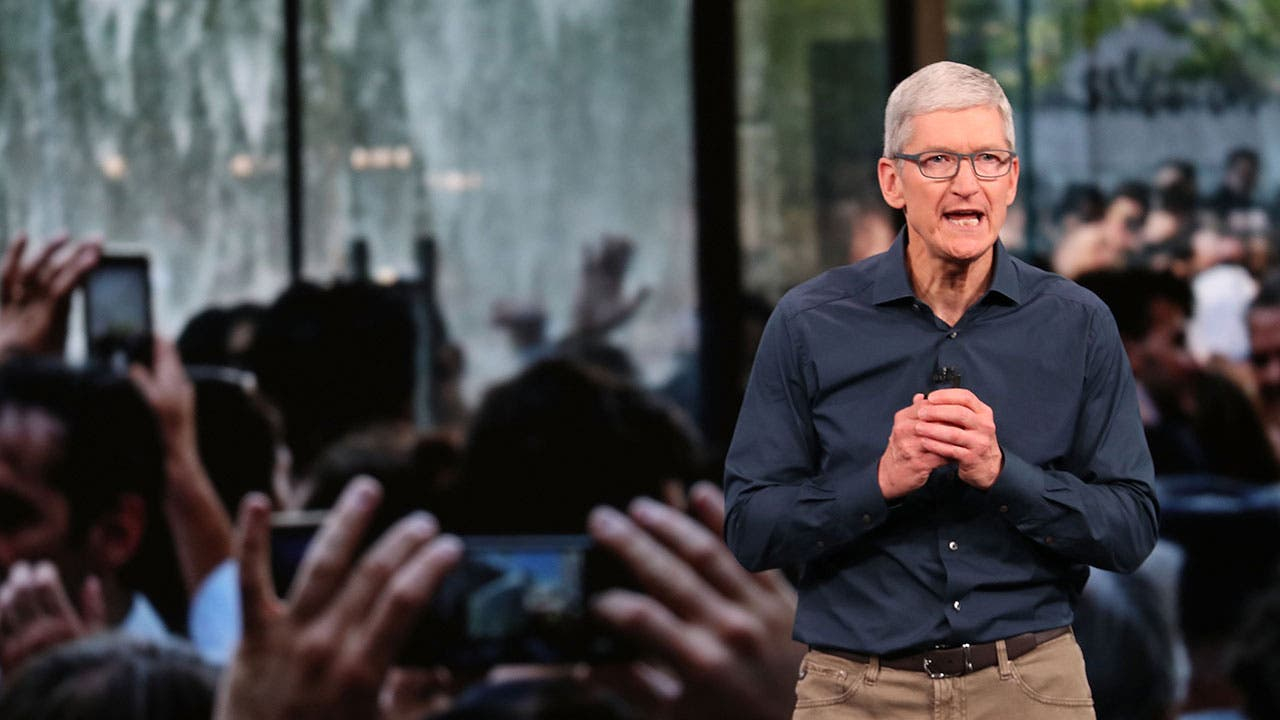 Tim Cook at Apple event