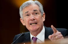 Jerome Powell speaks at Federal Reserve