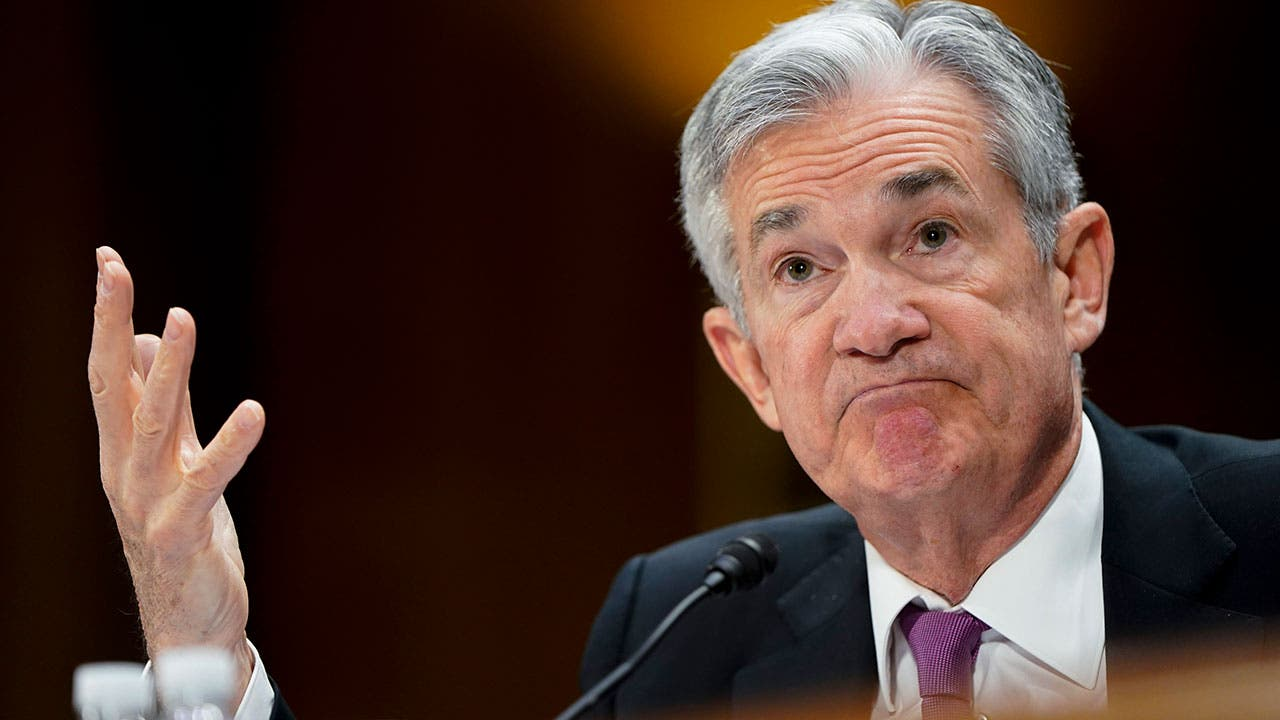 Jerome Powell at Fed meeting