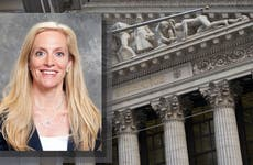 Lael Brainard at the New York Stock Exchange