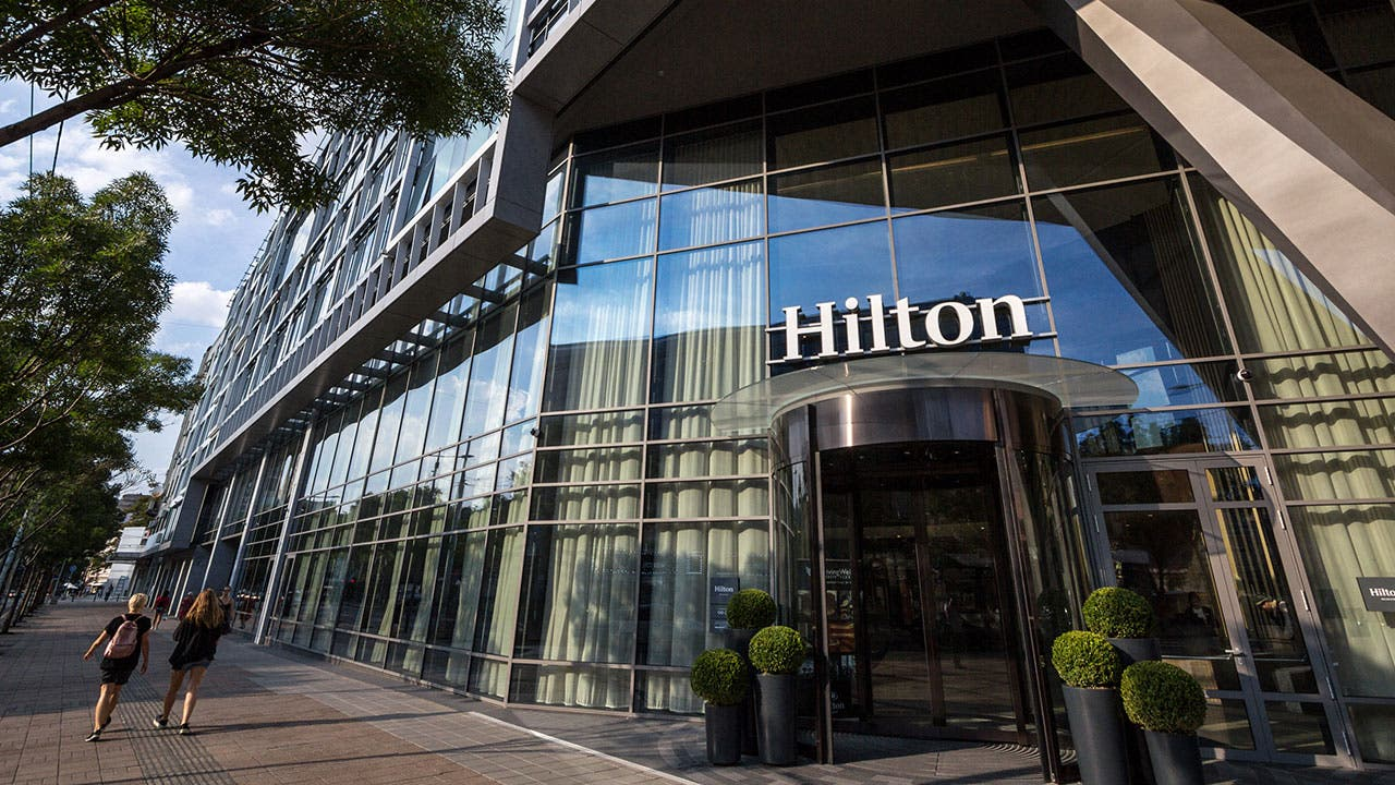 Hilton Hotel exterior