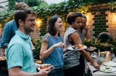 Millennials at a dinner party