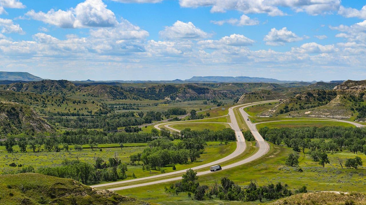 Badlands North Dakota