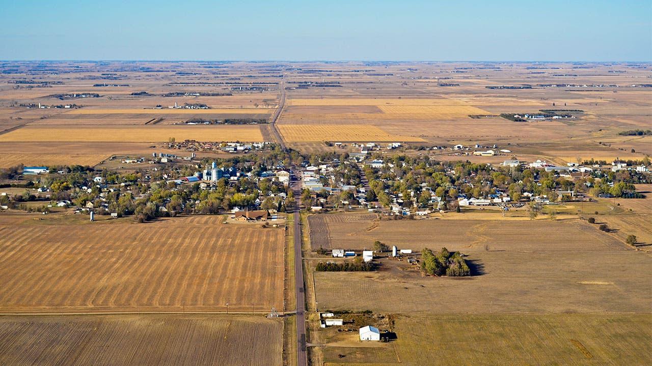 South Dakota aerial