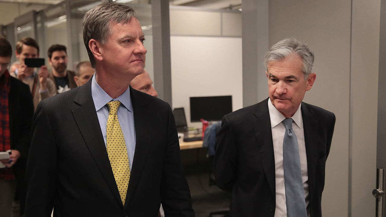 Charles Evans and Jeremy Powell Federal Reserve