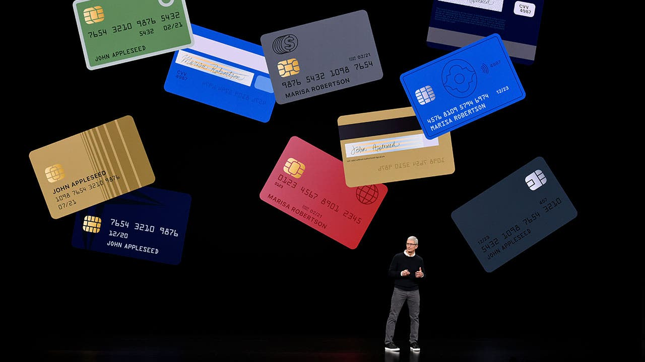 Tim Cook announces Apple Card
