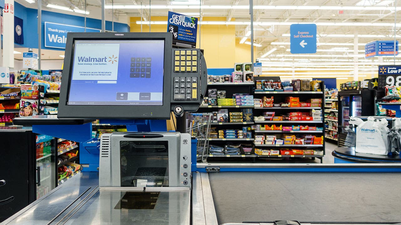 Walmart register