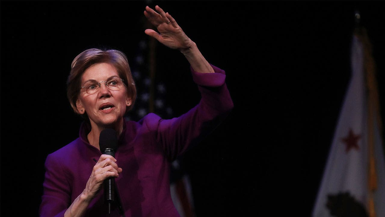 Elizabeth Warren on the campaign trail