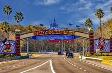 Entry to Disney World