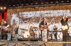 Of Monsters and Men preforming at Austin City Limits