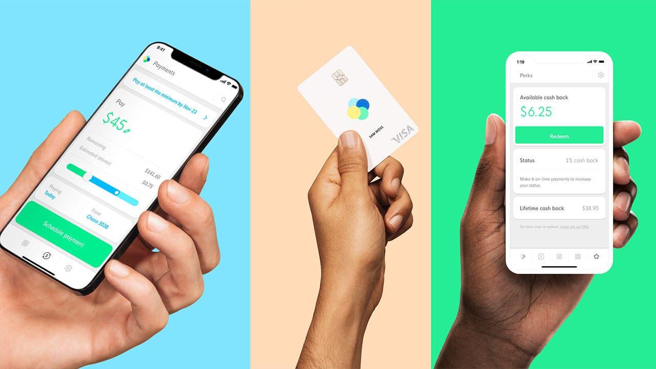 Petal credit card and app