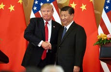 Donald Trump and President Xi