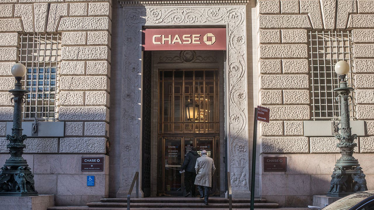Chase Bank in Manhattan