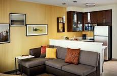 Marriott hotel suite