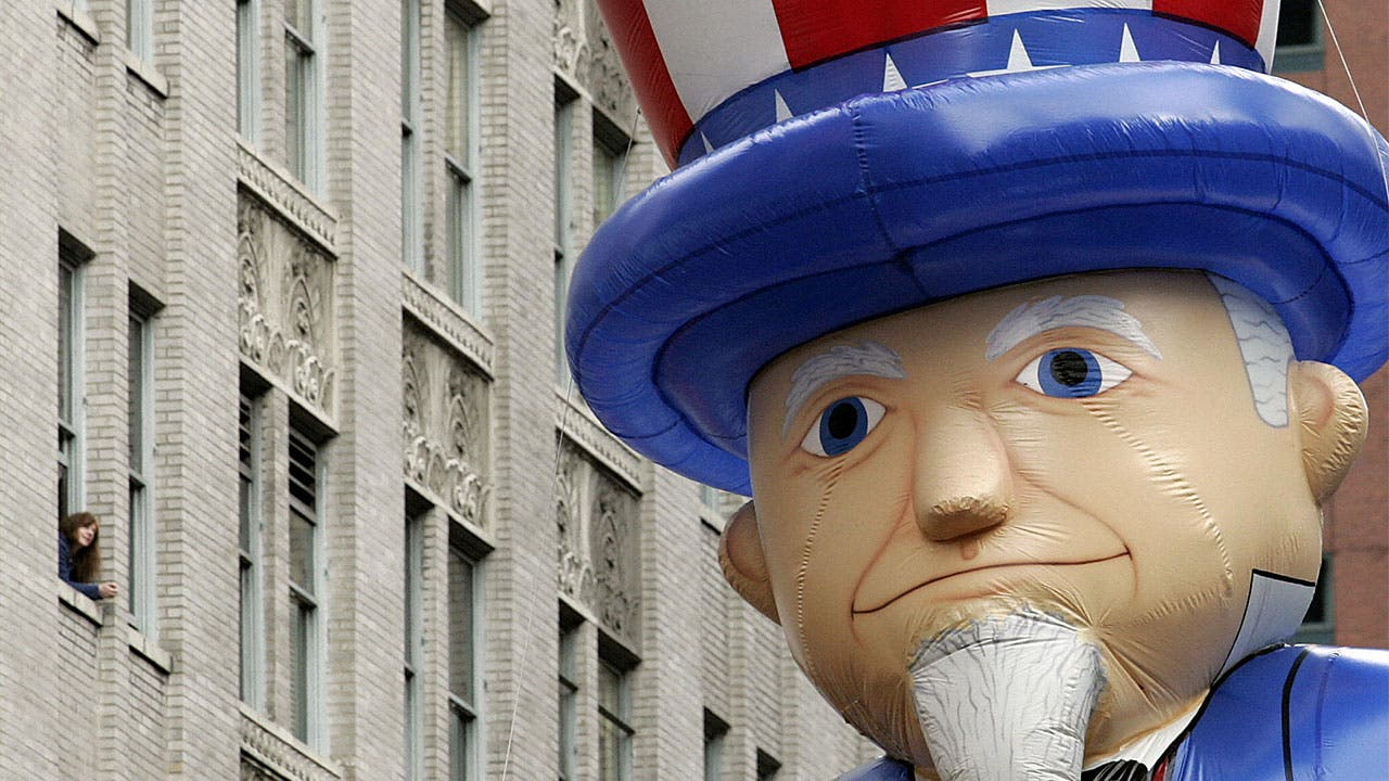 Uncle Sam balloon Macys parade