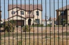 Gated housing development