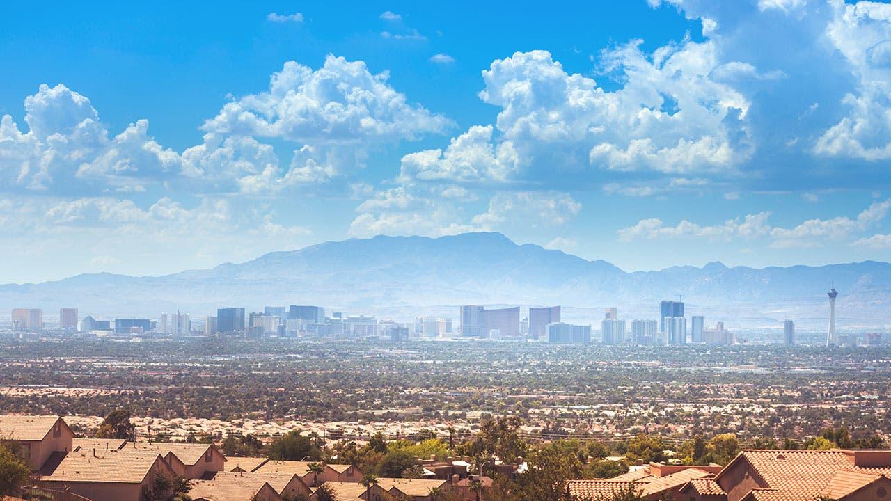 Residential housing in Las Vegas