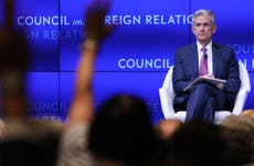 Fed Chairman Jerome Powell speaks at Council on Foreign Relations event