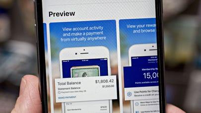 Mobile app comparison: American Express vs. Chase
