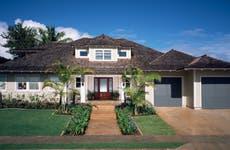 An exterior of a home
