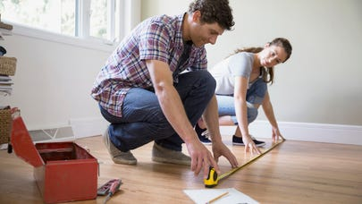 How to calculate the square footage of a home