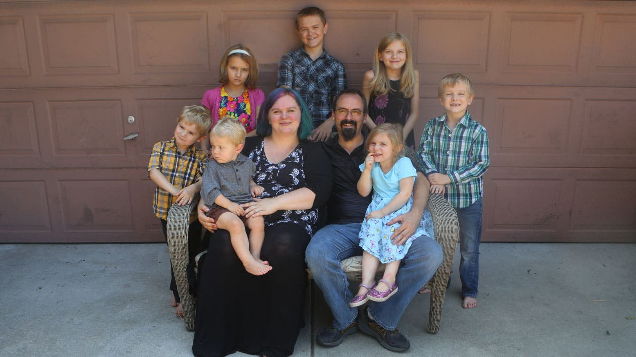 Steffanie Hinson and her family