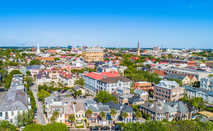 Downtown Charleston South Carolina Skyline