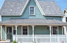 A quaint historic home