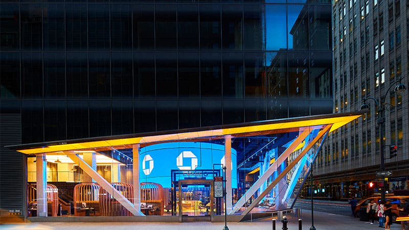 Chase's flagship branch in New York City