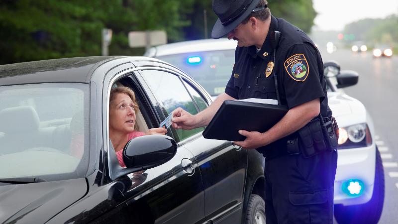 Difference Between a Citation and a Speeding Ticket