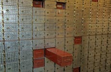 Deposit boxes in the Chamber of Commerce