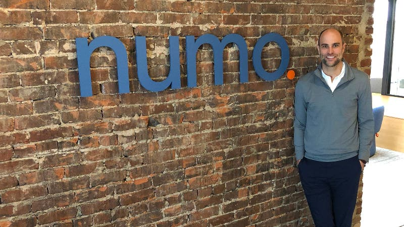 David Passavant, numo CEO, is helping to design a bank account for 1099 employees.