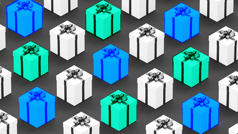 Bankrate gift boxes