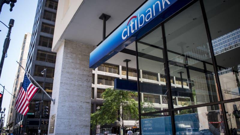 A Citibank branch.