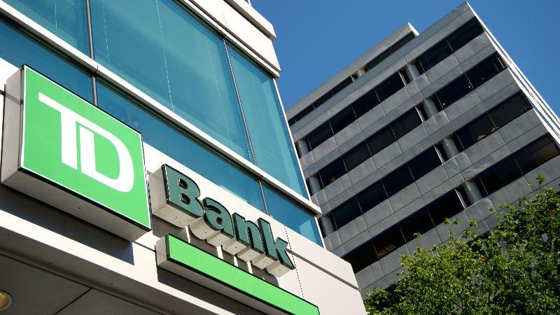A TD Bank branch